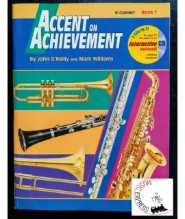 O'Reilly, Williams - Accent On Achievement Clarinet Book 1