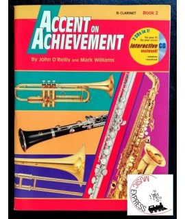 O'Reilly, Williams - Accent On Achievement Clarinet Book 2