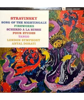 Igor Stravinsky - Song Of The Nightingale / Fireworks / Scherzo A La Russe / Four Etudes / Tango