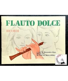 Vari - Flauto Dolce Album n. 3 - 20 Pezzi da Opere Celebri