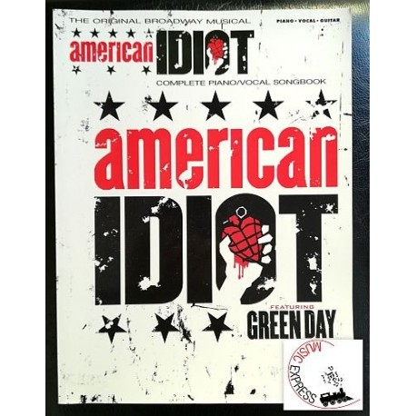 Green Day - American Idiot - Complete Piano/Vocal Songbook