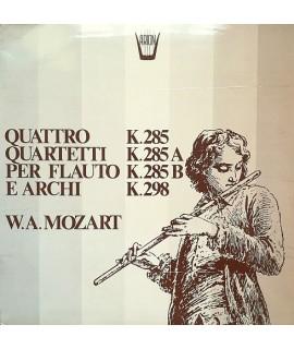 Mozart - Quattro Quartetti per Flauto e Archi