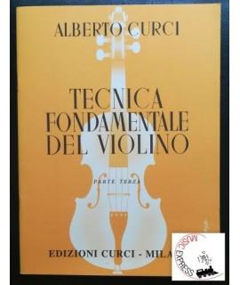 Curci - Tecnica Fondamentale del Violino Parte Terza