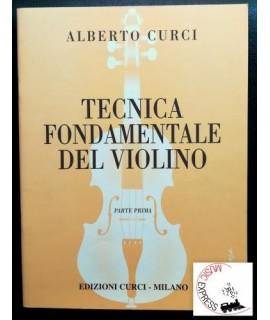Curci - Tecnica Fondamentale del Violino Parte Pima