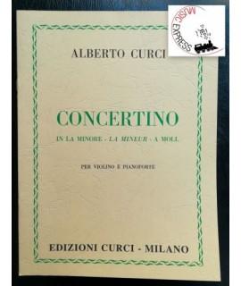 Curci - Concertino in La Minore per Violino e Pianoforte