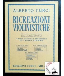 Curci - Ricreazioni Violinistiche II° Fascicolo
