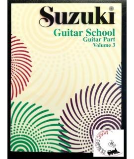 Suzuki Guitar School Volume 3 - Guitar Part
