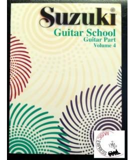 Suzuki Guitar School Volume 4 - Guitar Part