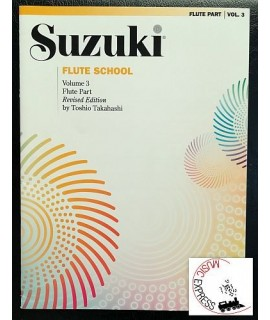 Suzuki Flute School Volume 3 - Flute Part - Revised Edition