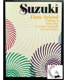Suzuki Flute School Volume 4 - Flute Part - Revised Edition