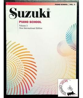 Suzuki Piano School Volume 3 - New International Edition