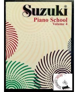 Suzuki Piano School Volume 4