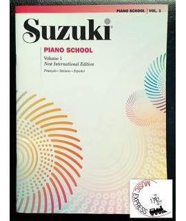 Suzuki Piano School Volume 1 - New International Edition