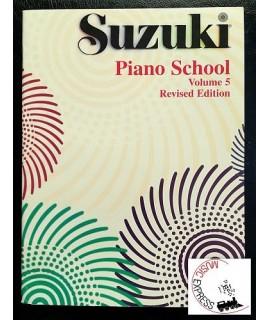 Suzuki Piano School Volume 5 - Revised Edition