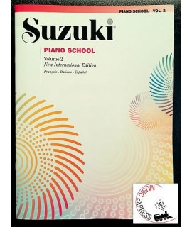 Suzuki Piano School Volume 2 - New International Edition