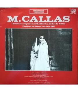Maria Callas - Concerto Eseguito Nell'Anfiteatro di Erode Attico - Festival di Atene 1957