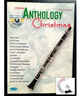 Vari - Anthology Christmas - 16 Carols Favorites - Clarinet