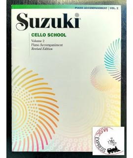 Suzuki Cello School Volume 2 - Piano Accompaniment - Revised Edition