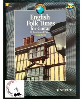 Burns - English Folk Tunes for Guitar - 28 Traditional Pieces