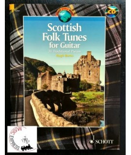 Burns - Scottish Folk Tunes for Guitar - 31 Traditional Pieces