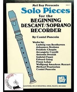Vari - Solo Pieces for the Beginning Descant/Soprano Recorder