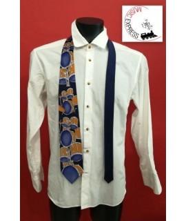 Cravatta Musicale con Batteria