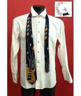 Cravatta Musicale con Basso Elettrico