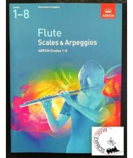 Flute Scales & Arpeggios ABRSM Grades 1-8