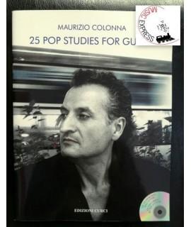 Colonna - 25 Pop Studies for Guitar