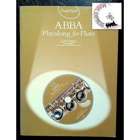 Abba - Playalong For Flute