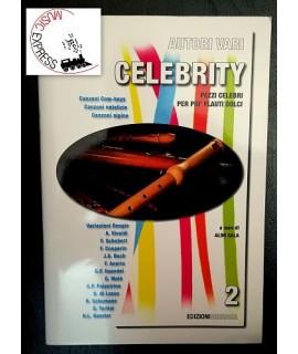 Vari - Celebrity - Pezzi Celebri per Più Flauti Dolci Volume 2