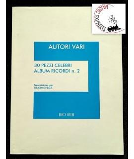 Vari - 30 Pezzi Celebri Album Ricordi n. 2