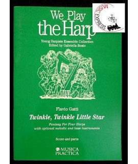 We Play The Harp - Twinkle, Twinle Little Star
