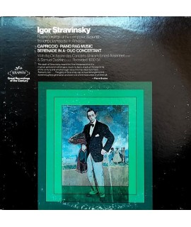 Igor Stravinsky - Rare Recordings Of The Composer As Pianist