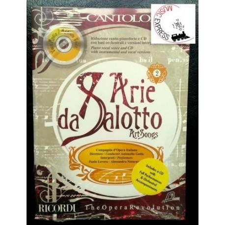 Cantolopera - Arie da Salotto Voce Media Volume 2