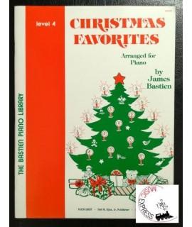 Bastien Piano Library - Christmas Favorites Level 4
