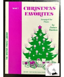 Bastien Piano Library - Christmas Favorites Level 1
