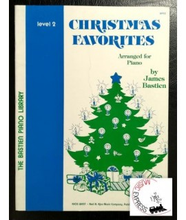 Bastien Piano Library - Christmas Favorites Level 2
