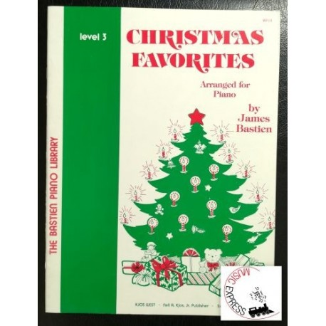 Bastien Piano Library - Christmas Favorites Level 3