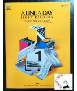 Bastien Piano Basics - A Line A Day Sight Reading Level 4