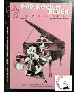 Bastien Piano Library - Pop, Rock 'n Blues Book 1