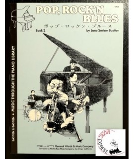 Bastien Piano Library - Pop, Rock 'n Blues Book 2