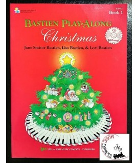 Bastien - Play-Along Christmas Book 1