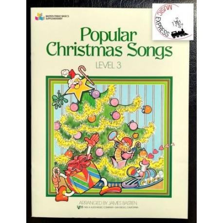 Bastien - Popular Christmas Songs Level 3