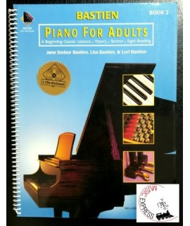 Bastien - Piano for Adults Book 2