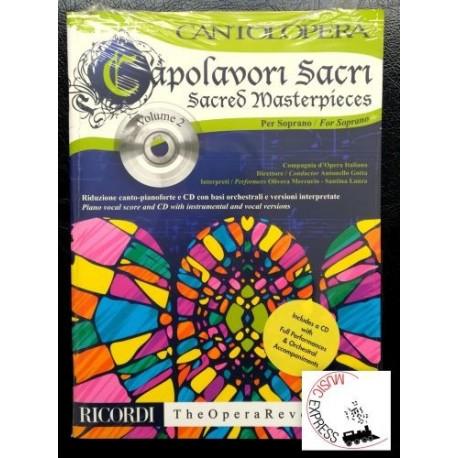 Cantolopera - Capolavori Sacri per Soprano Volume 2
