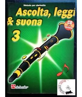 Ascolta, Leggi & Suona 3 - Metodo per Clarinetto Volume 3