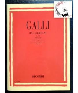 Galli - 30 Esercizi Per Flauto Op. 100