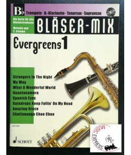Vari - Bläser-Mix Evergreens 1