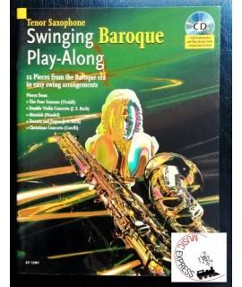 Swinging Baroque Play-Along - Tenor Saxophone